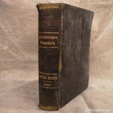 Libros antiguos: FARMACOPEA ESPAÑOLA MADRID 105 SÉPTIMA EDICIÓN. Lote 202634921