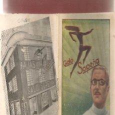 Libros antiguos: ARTICULOS ORTOPEDICOS DE GALO SOPEÑA VALENCIA FAJAS GENITALES PECTORALES. Lote 202751837