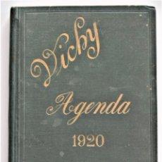 Libros antiguos: AGENDA DEL CUERPO MEDICO VICHY PARA EL AÑO 1920 - SIN USAR - BUEN ESTADO. Lote 203283808