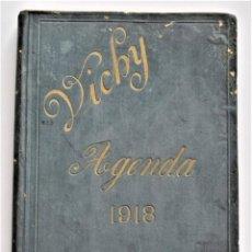Libros antiguos: AGENDA DEL CUERPO MEDICO VICHY PARA EL AÑO 1918 - SIN USAR. Lote 203284176