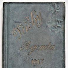 Libros antiguos: AGENDA DEL CUERPO MEDICO VICHY PARA EL AÑO 1917 - SIN USAR. Lote 203284357