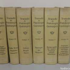 Libros antiguos: TRATADO DE PATOLOGIA QUIRURGICA. TOMOS I, II, III, IV, V, VI. JEANBRAU, PROUST, LECENE. BARCELONA 19. Lote 204527552