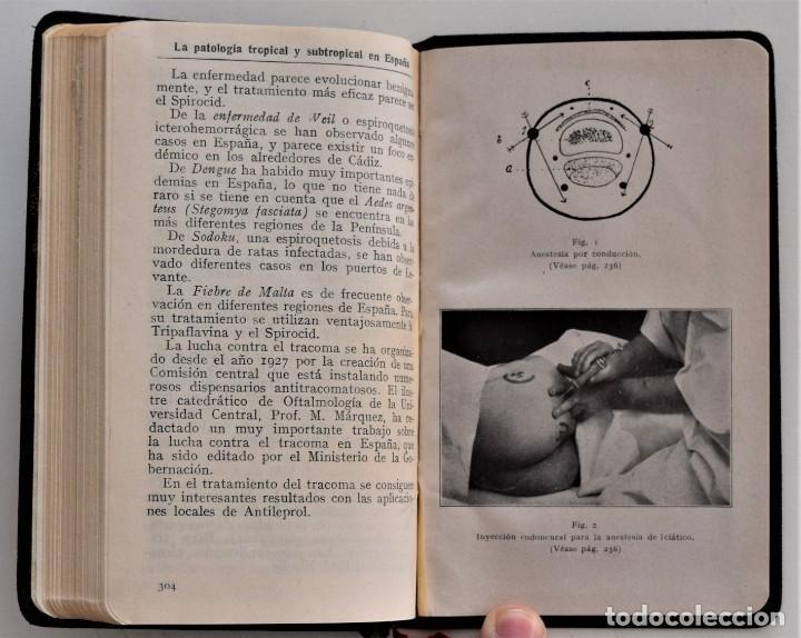 Libros antiguos: LOTE 3 COMPENDIO BAYER DIFERENTES AÑOS 1930-31, 1936 Y 1942 SIN USAR - Foto 6 - 205279246