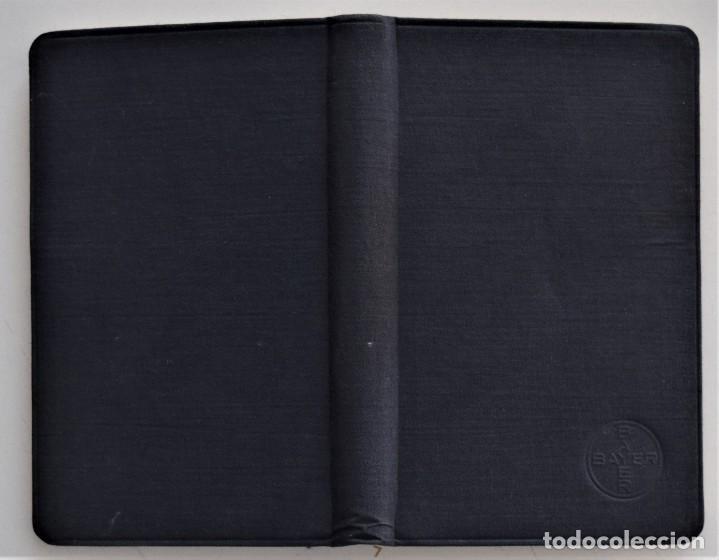 Libros antiguos: LOTE 3 COMPENDIO BAYER DIFERENTES AÑOS 1930-31, 1936 Y 1942 SIN USAR - Foto 12 - 205279246