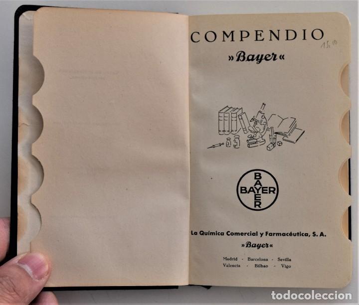 Libros antiguos: LOTE 3 COMPENDIO BAYER DIFERENTES AÑOS 1930-31, 1936 Y 1942 SIN USAR - Foto 13 - 205279246