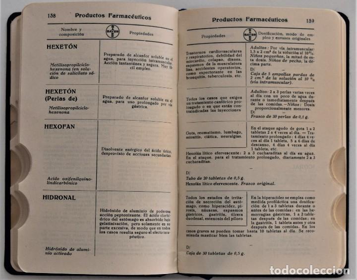 Libros antiguos: LOTE 3 COMPENDIO BAYER DIFERENTES AÑOS 1930-31, 1936 Y 1942 SIN USAR - Foto 15 - 205279246