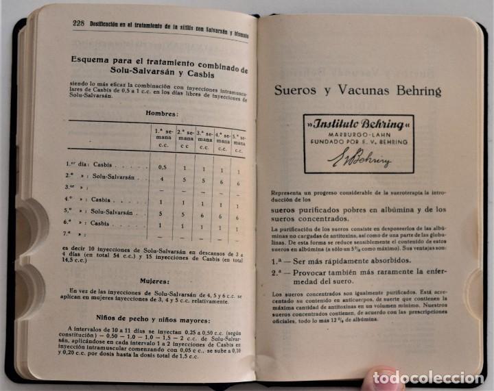 Libros antiguos: LOTE 3 COMPENDIO BAYER DIFERENTES AÑOS 1930-31, 1936 Y 1942 SIN USAR - Foto 16 - 205279246