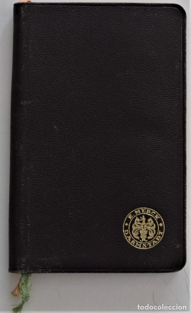 LIBRITO DE CONSULTA PREPARADOS ESPECIALES E. MERCK DARMSTADT AÑO 1936 - BUEN ESTADO (Libros Antiguos, Raros y Curiosos - Ciencias, Manuales y Oficios - Medicina, Farmacia y Salud)