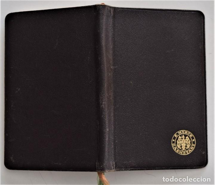 Libros antiguos: LIBRITO DE CONSULTA PREPARADOS ESPECIALES E. MERCK DARMSTADT AÑO 1936 - BUEN ESTADO - Foto 2 - 205279746