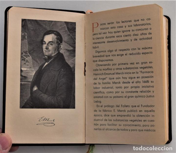 Libros antiguos: LIBRITO DE CONSULTA PREPARADOS ESPECIALES E. MERCK DARMSTADT AÑO 1936 - BUEN ESTADO - Foto 3 - 205279746