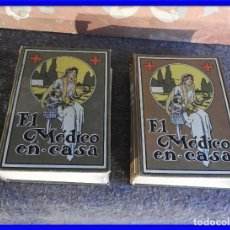 Libros antiguos: LIBROS EL MEDICO EN CASA DOS TOMOS ILUSTRADOS AÑO 1935 ED. LABOR. Lote 208106205