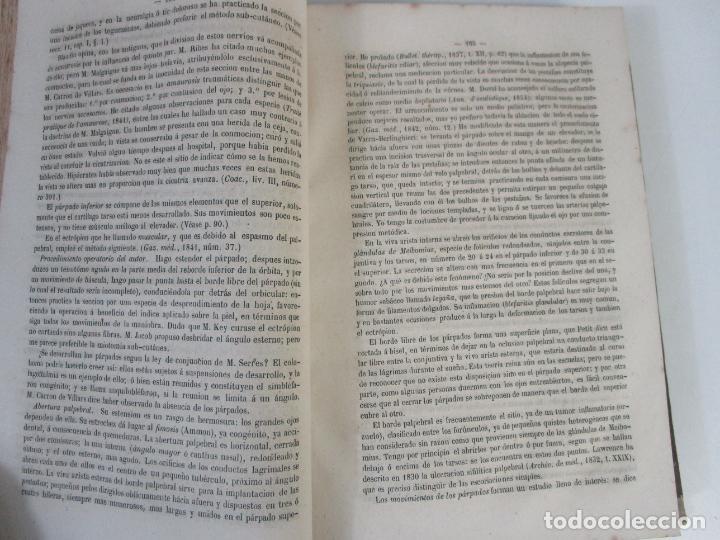 Libros antiguos: Tratado de Anatomía Topográfica Medico-Quirúrgica - J.E. Pétrequin - Madrid 1868 - Foto 5 - 208213227