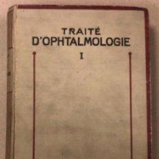 Libros antiguos: TRAITÉ D'OPHTALMOLOGIE TOME I. POULARD. MASSON ET CIE EDITEURS 1923. TRATADO DE OFTALMOLOGÍA. Lote 208796648