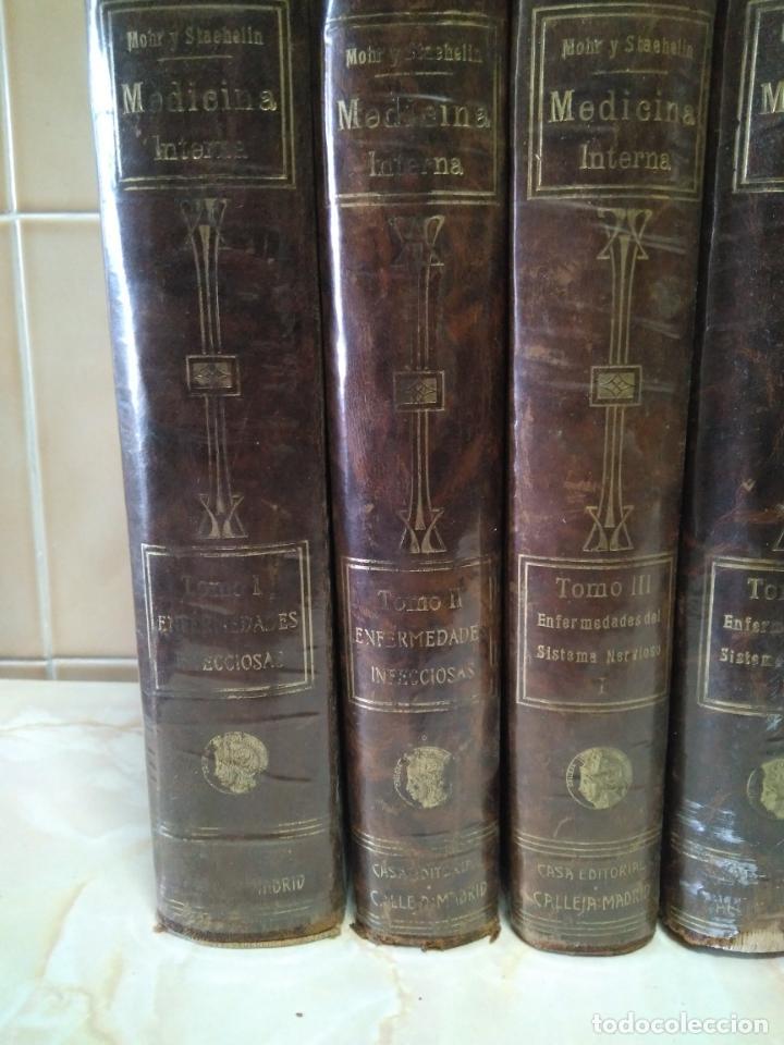 Libros antiguos: TRATADO DE MEDICINA INTERNA - L.MOHR Y R.STAEHELIN - 15 TOMOS,OBRA COMPLETA - ED. SATURNINO CALLEJA - Foto 3 - 208859150