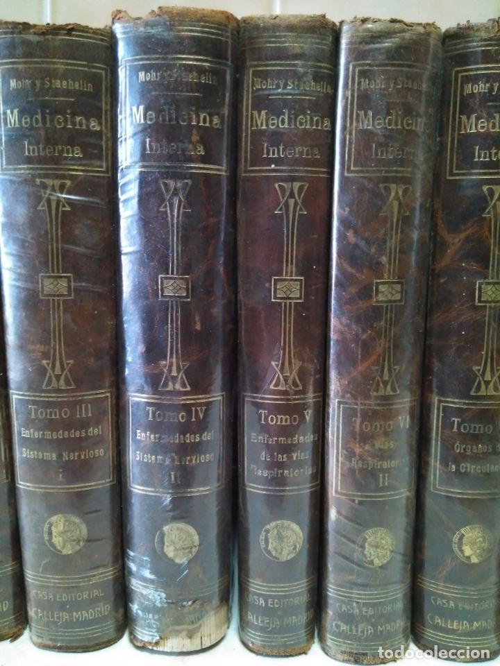 Libros antiguos: TRATADO DE MEDICINA INTERNA - L.MOHR Y R.STAEHELIN - 15 TOMOS,OBRA COMPLETA - ED. SATURNINO CALLEJA - Foto 4 - 208859150