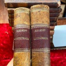 Libros antiguos: TRATADO DE OBSTETRICIA - TOMOS I Y II. EDICIÓN DE 1897. Lote 209043330