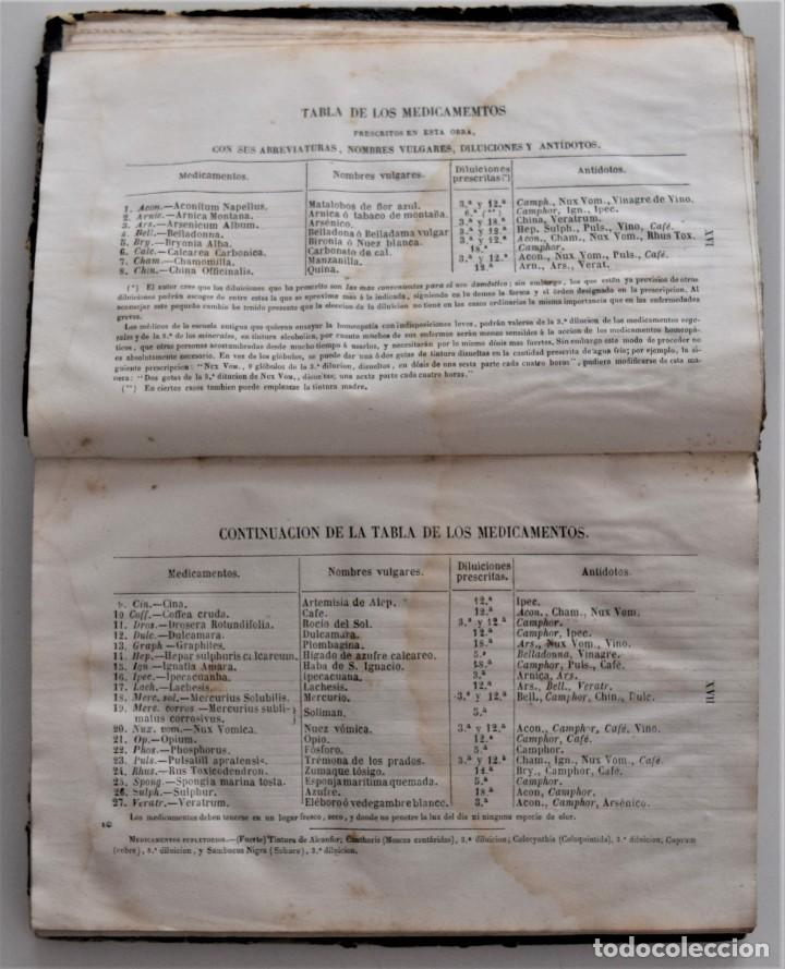 Libros antiguos: NUEVO MANUAL DE HOMEOPATÍA DOMÉSTICA, POR CHEPMELL + GUÍA DEL HOMEÓPATA POR RUOFF AÑO 1846 - Foto 6 - 210206875