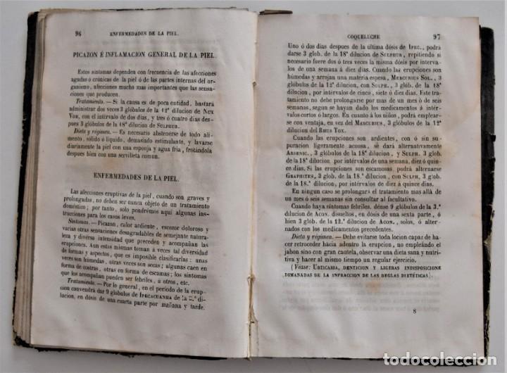 Libros antiguos: NUEVO MANUAL DE HOMEOPATÍA DOMÉSTICA, POR CHEPMELL + GUÍA DEL HOMEÓPATA POR RUOFF AÑO 1846 - Foto 9 - 210206875