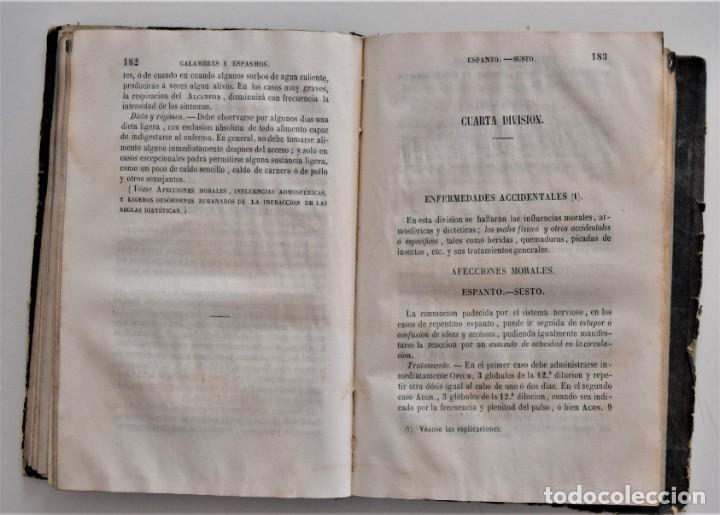 Libros antiguos: NUEVO MANUAL DE HOMEOPATÍA DOMÉSTICA, POR CHEPMELL + GUÍA DEL HOMEÓPATA POR RUOFF AÑO 1846 - Foto 11 - 210206875