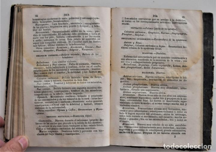 Libros antiguos: NUEVO MANUAL DE HOMEOPATÍA DOMÉSTICA, POR CHEPMELL + GUÍA DEL HOMEÓPATA POR RUOFF AÑO 1846 - Foto 18 - 210206875