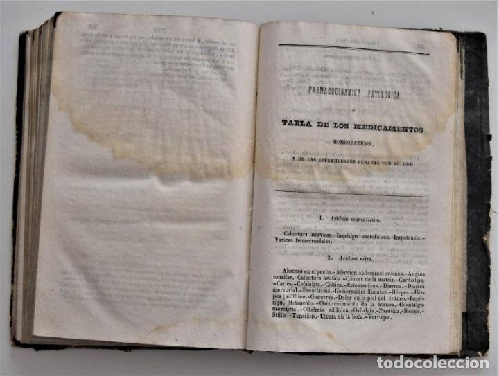Libros antiguos: NUEVO MANUAL DE HOMEOPATÍA DOMÉSTICA, POR CHEPMELL + GUÍA DEL HOMEÓPATA POR RUOFF AÑO 1846 - Foto 20 - 210206875