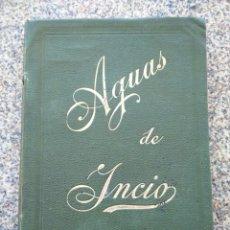 Libros antiguos: LAS AGUAS DE INICIO Y LAS ENFERMEDADES DE LA SANGRE - LUGO - ANGEL NIETO Y MENDEZ -- MADRID 1901 --. Lote 210362862
