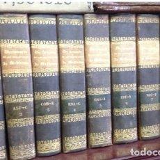 Libros antiguos: TRATADO COMPLETO DE MEDICINA Y CIRUJIA PRACTICA. DR. FABRE. MADRID 1842. 10 TOMOS EN 9 VOLÚMENES. Lote 210366725
