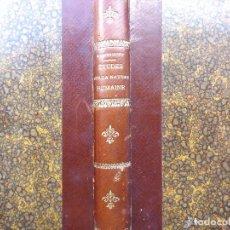 Libros antiguos: ÉTUDES SUR LA NATURE HUMAINE. ÉLIE METCHNIKOFF. QUATRIÉME ÉDITION. PARIS 1908.. Lote 210744826