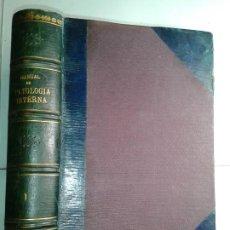 Libros antiguos: MANUAL DE PATOLOGÍA INTERNA TOMO I ENFERMEDADES INFECCIOSAS INTOXICACIONES 1915 BALTHAZARD. Lote 211596365