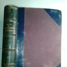 Libros antiguos: MANUAL DE PATOLOGÍA INTERNA TOMO II NUTRICIÓN SANGRE / CORAZÓN PULMONES 1915 BALTHAZARD. Lote 211596832