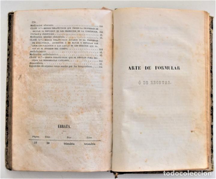 Libros antiguos: TRATADO ELEMENTAL MATERIA MÉDICA O FARMACOLOGÍA, TERAPÉUTICA VETERINARIA, JOSÉ MARÍA ESTARRONA 1850 - Foto 26 - 212300847
