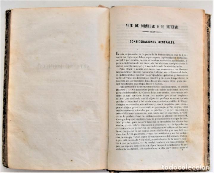 Libros antiguos: TRATADO ELEMENTAL MATERIA MÉDICA O FARMACOLOGÍA, TERAPÉUTICA VETERINARIA, JOSÉ MARÍA ESTARRONA 1850 - Foto 27 - 212300847