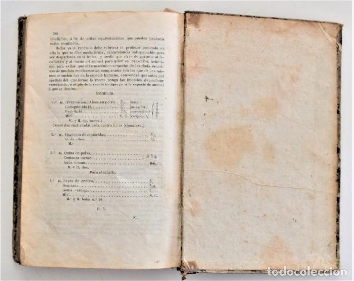 Libros antiguos: TRATADO ELEMENTAL MATERIA MÉDICA O FARMACOLOGÍA, TERAPÉUTICA VETERINARIA, JOSÉ MARÍA ESTARRONA 1850 - Foto 28 - 212300847