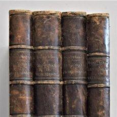 Libros antiguos: DICCIONARIO DE VETERINARIA - CAGNY Y GOBERT - EN 4 TOMOS - FELIPE GONZÁLEZ ROJAS, EDITOR 1890. Lote 212383770