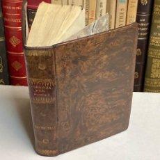 Libros antiguos: AÑO 1831 - MANUAL DE FISIOLOGIA DEL HOMBRE POR HUTIN - MEDICINA. Lote 213935383