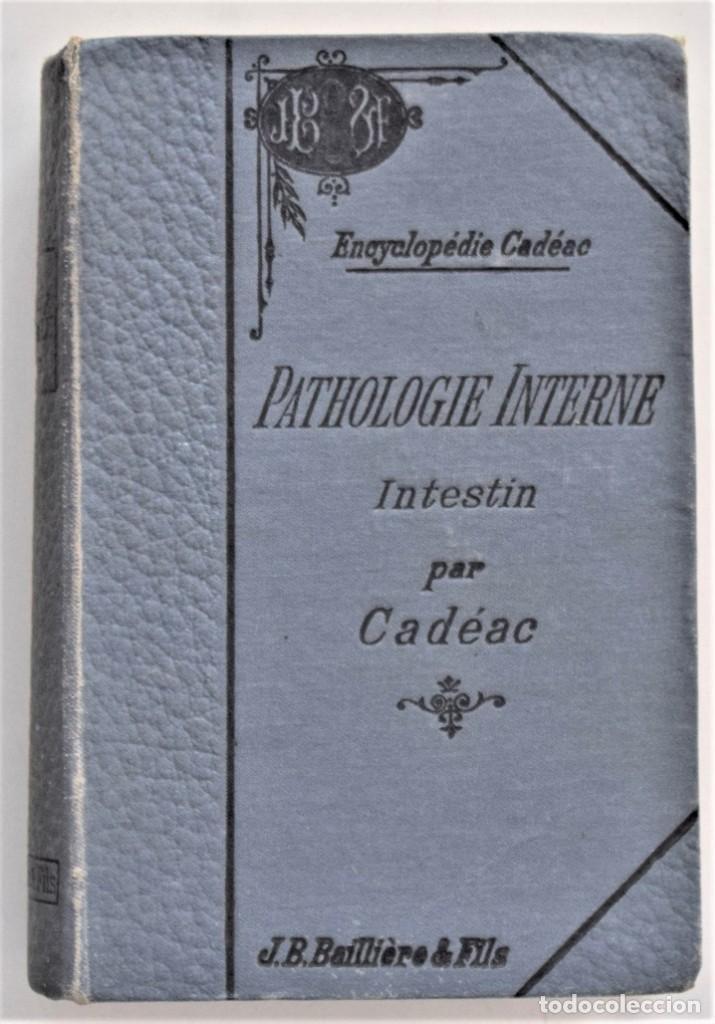 Libros antiguos: LOTE 4 TOMOS ENCICLOPEDIA CADÉAC DE VETERINARIA EDICIÓN FRANCESA AÑOS 1904 A 1914 - Foto 2 - 213962628
