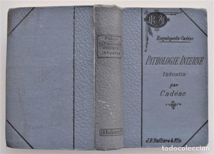 Libros antiguos: LOTE 4 TOMOS ENCICLOPEDIA CADÉAC DE VETERINARIA EDICIÓN FRANCESA AÑOS 1904 A 1914 - Foto 3 - 213962628