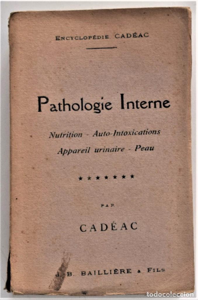Libros antiguos: LOTE 4 TOMOS ENCICLOPEDIA CADÉAC DE VETERINARIA EDICIÓN FRANCESA AÑOS 1904 A 1914 - Foto 8 - 213962628