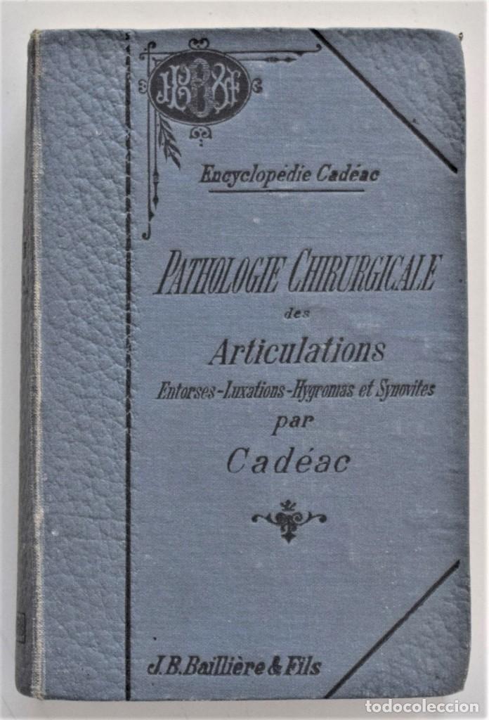 Libros antiguos: LOTE 4 TOMOS ENCICLOPEDIA CADÉAC DE VETERINARIA EDICIÓN FRANCESA AÑOS 1904 A 1914 - Foto 14 - 213962628
