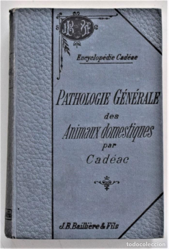 Libros antiguos: LOTE 4 TOMOS ENCICLOPEDIA CADÉAC DE VETERINARIA EDICIÓN FRANCESA AÑOS 1904 A 1914 - Foto 20 - 213962628