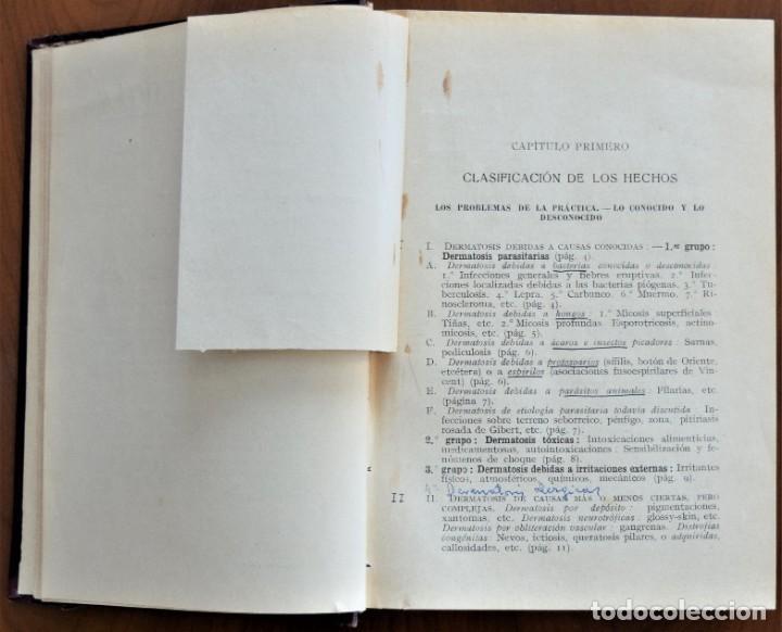 Libros antiguos: DERMATOLOGÍA - H. GOUGEROT - COLECCIÓN CÓMO CURAR - EDITORIAL PUBUL , BARCELONA 1924 - Foto 4 - 214429307