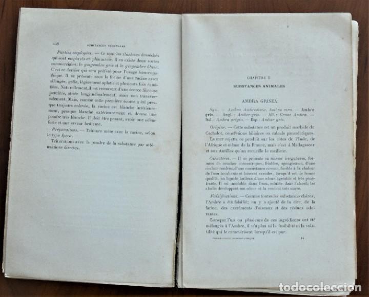 Libros antiguos: PHARMACOPÉE HOMOEOPATHIQUE FRANCAISE - H. ECALLE - EN FRANCÉS - HOMEOPATÍA - PARIS 1898 - Foto 6 - 214429670