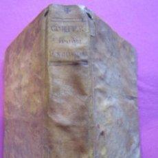 Libros antiguos: CIRUGÍA EXPURGADA JUAN DE GORTER, AÑO 1780 ORIGINAL CON LAMINAS. Lote 214544206