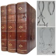 Libros antiguos: 1888. RARO MANUAL DE PARTOS. EMBARAZO, ABORTOS, CIRUGÍA OBSTÉTRICA, MEDICINA, OBSTETRICIA. ILUSTRADO. Lote 214979605