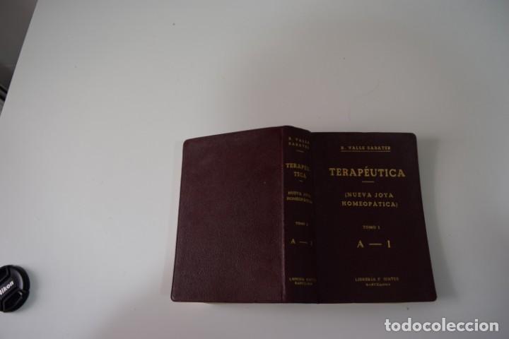 Libros antiguos: TRATADO DE TERAPÉUTICA HOMEOPÁTICA (NUEVA JOYA HOMEOPÁTICA) - R. VALLS SABATER - DOS TOMOS AÑO 1935 - Foto 4 - 214989016