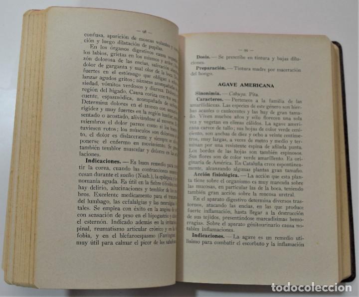 Libros antiguos: TRATADO DE TERAPÉUTICA HOMEOPÁTICA (NUEVA JOYA HOMEOPÁTICA) - R. VALLS SABATER - DOS TOMOS AÑO 1935 - Foto 6 - 214989016