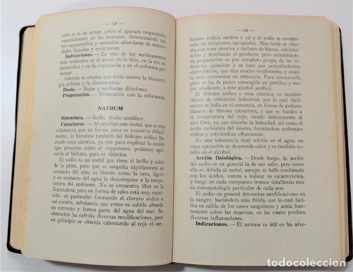 Libros antiguos: TRATADO DE TERAPÉUTICA HOMEOPÁTICA (NUEVA JOYA HOMEOPÁTICA) - R. VALLS SABATER - DOS TOMOS AÑO 1935 - Foto 11 - 214989016