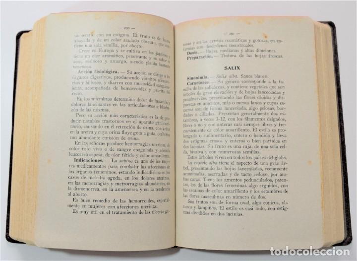 Libros antiguos: TRATADO DE TERAPÉUTICA HOMEOPÁTICA (NUEVA JOYA HOMEOPÁTICA) - R. VALLS SABATER - DOS TOMOS AÑO 1935 - Foto 12 - 214989016