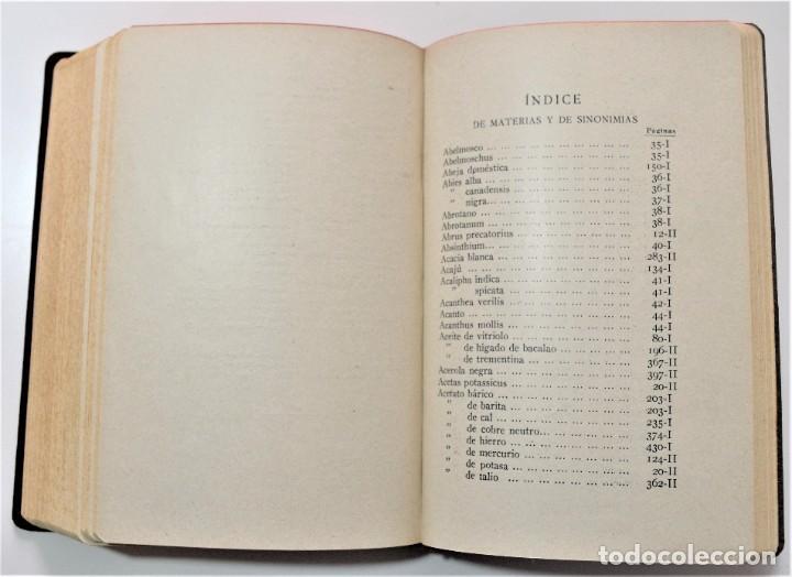 Libros antiguos: TRATADO DE TERAPÉUTICA HOMEOPÁTICA (NUEVA JOYA HOMEOPÁTICA) - R. VALLS SABATER - DOS TOMOS AÑO 1935 - Foto 13 - 214989016