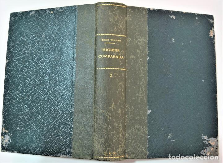 Libros antiguos: TRATADO ELEMENTAL DE HIGIENE COMPARADA DEL HOMBRE Y LOS ANIMALES DOMÉSTICOS, DÍAZ VILLAR 1911 Y 1915 - Foto 10 - 214990480